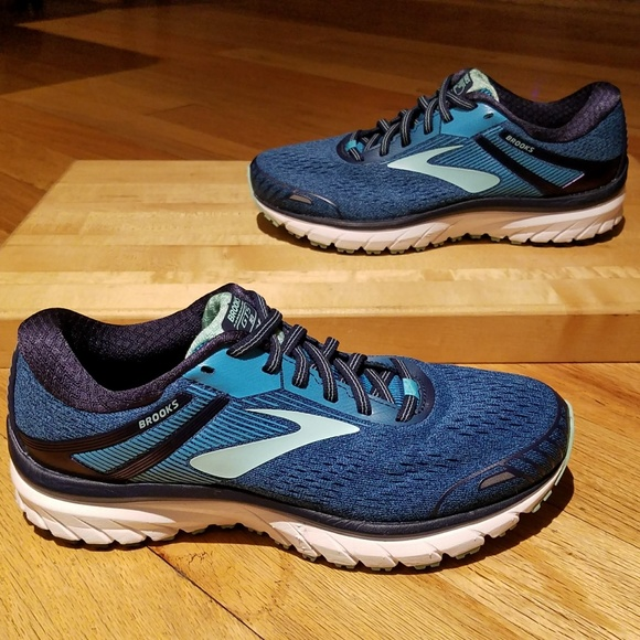 d8334da417c7 Brooks Shoes - Brooks Adrenaline GTS 18 running shoes sz 8 WIDE